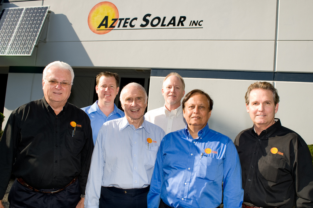 Aztec Solar Sales Team