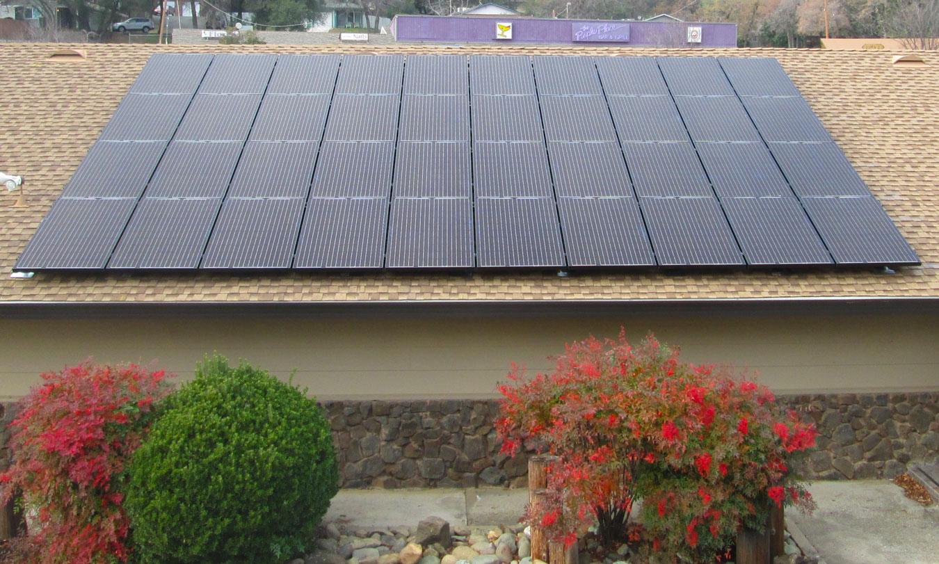 Aztec Solar Commercial Installation