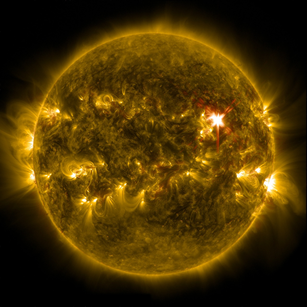 Sun shows its strength during solar flare – so why not harness it?