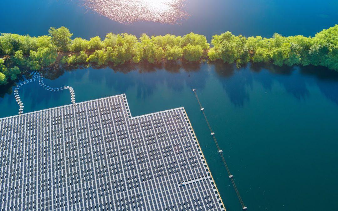 India unveils world's biggest floating solar plant